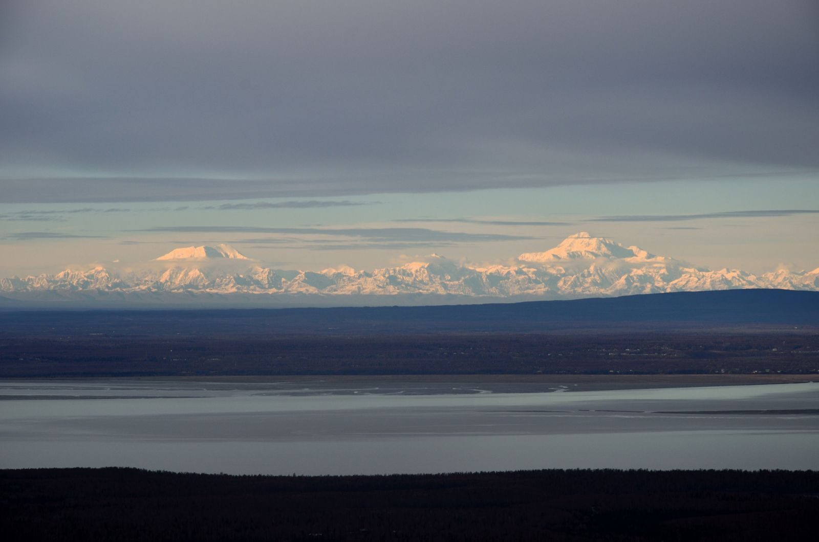 Denali from Anchorage 150 miles away