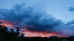 Firestorm Sunset