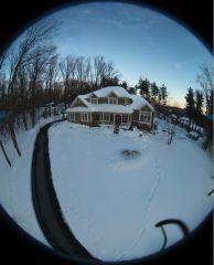 Bebop Drone House snow1