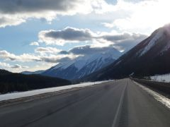 TransCanadian Hwy between Lake Louise And Golden