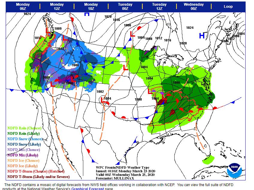 WPC s Short Range Forecasts  Days 0 5 - 2 5  - NDFD Precipitation.png